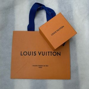 Louis Vuitton Small Jewelry Size Box and Bag